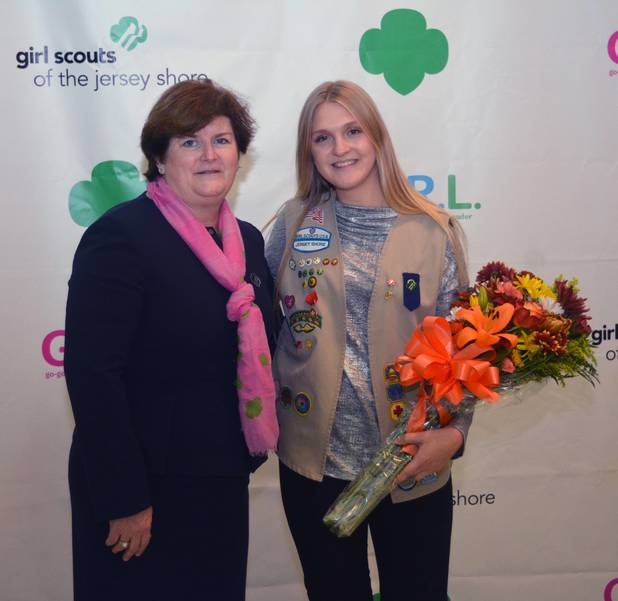 Girl Scout Receives Medal of Honor