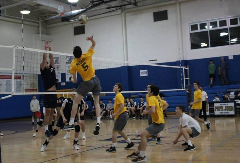 WHRHS Boys Volleyball: Watchung Hills Tops Pope John, 2-0