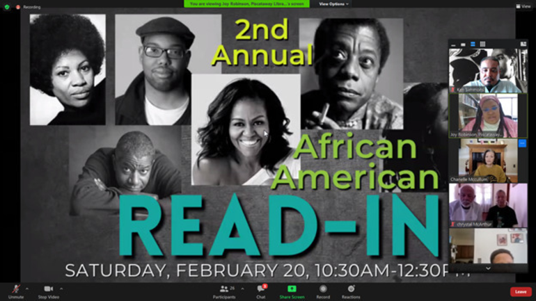 Piscataway Residents Recite Poetry, Original Works at 2nd Annual African American Read-In