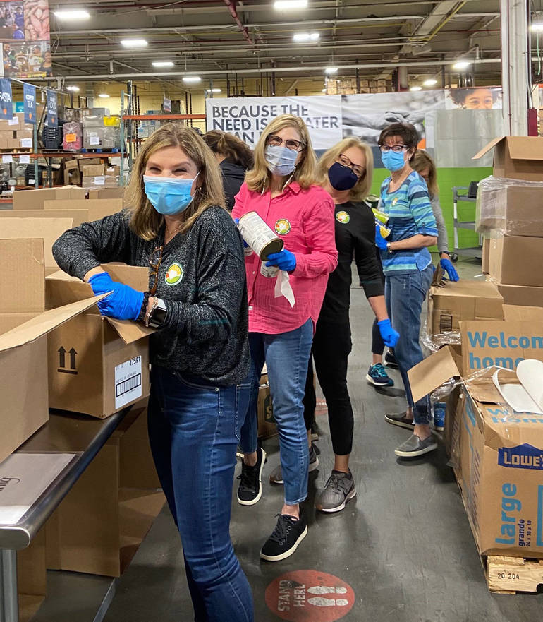 Temple Emanu-El of Westfield Lends a Hand to Help Nourish New Jersey's Communities in Need