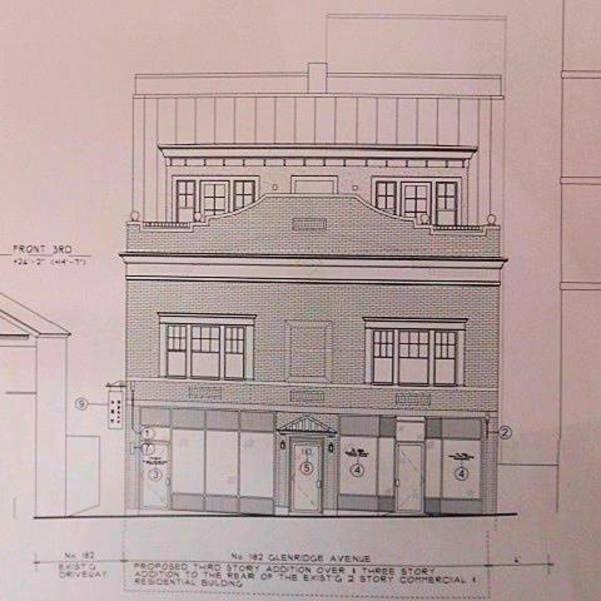 3 -182 Glenridge Avenue revised front elevation.JPG