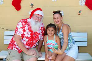 Santa Visits Raritan for Annual Christmas in July (Photo Gallery)
