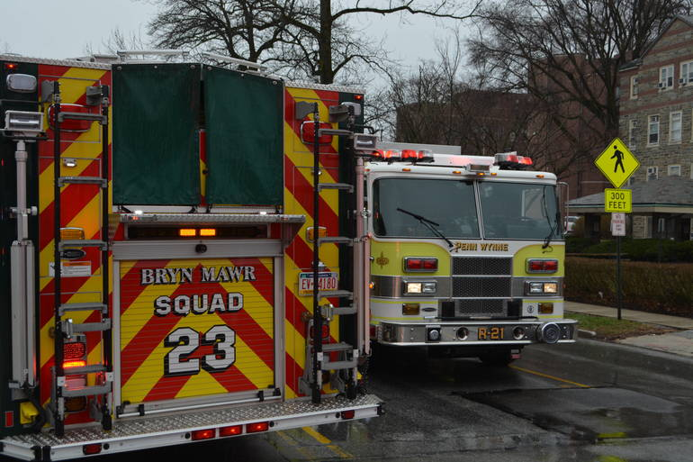35 S. Bryn Mawr Ave 3-25-2019 Woman pinned by auto at parking lot (3).JPG