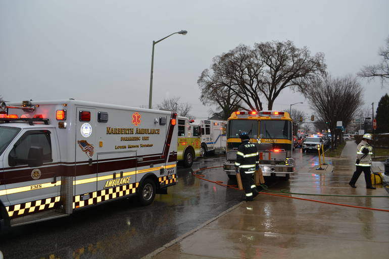 Lower Merion Fire Department and EMS Narberth Ambulance