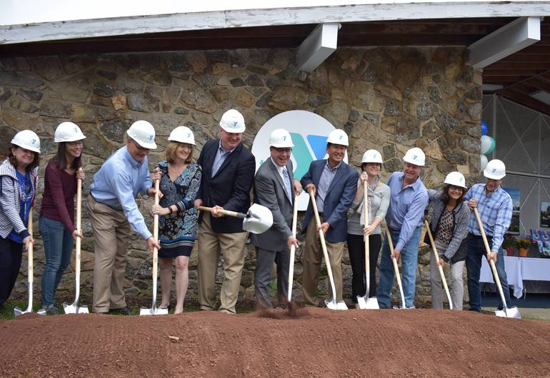 BH YMCA Groundbreaking, Oct. 6, 2018