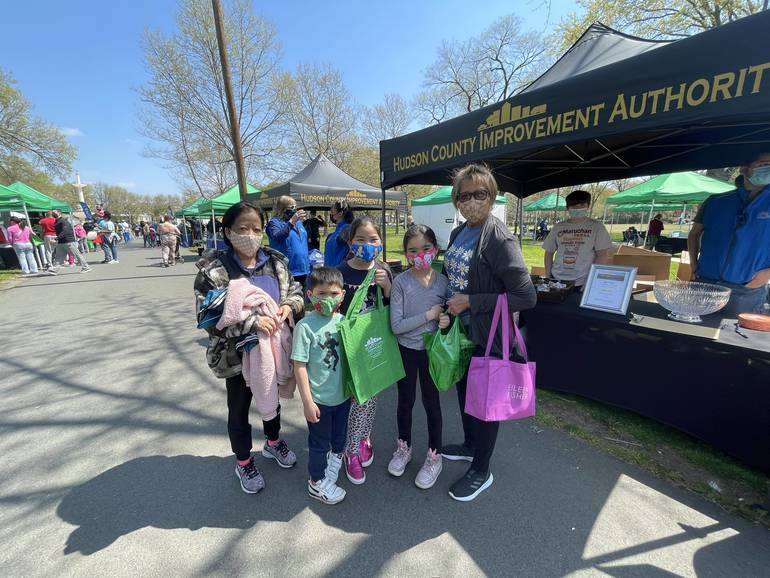 Hudson County Improvement Authority Hosts Earth Day Celebration