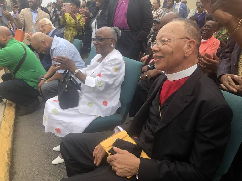 On 81st Birthday Bishop Liston Page Sr. Blessed by Raindrops, Honored with Street Naming