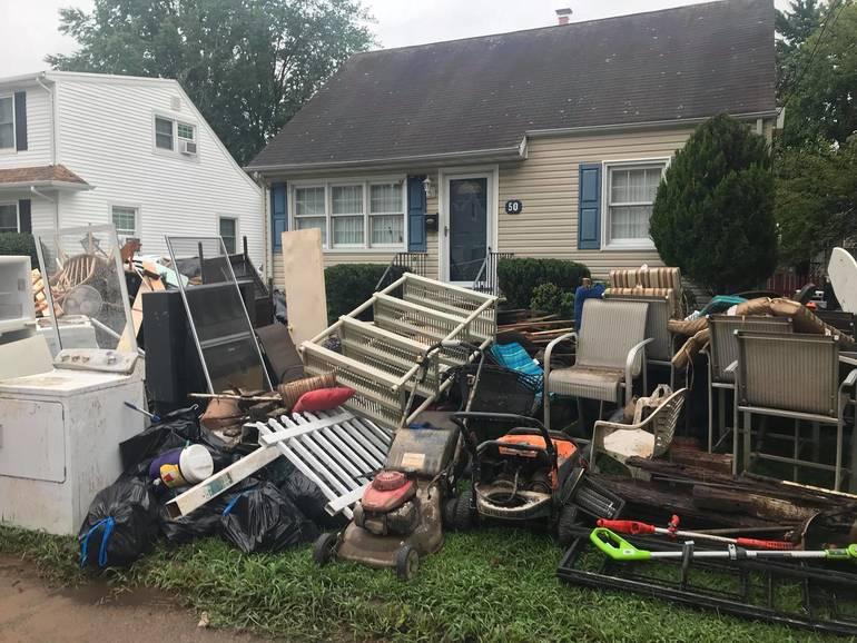 Gov. Murphy Tours Flood Battered Little Falls Neighborhood