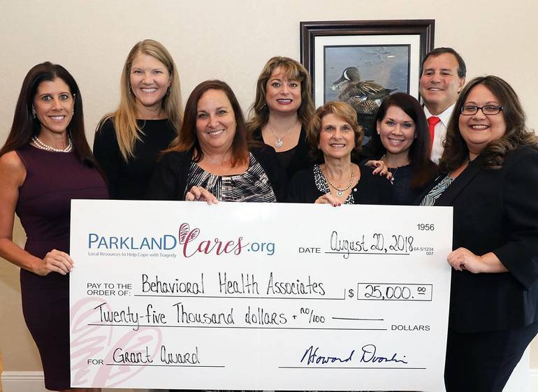 1 of 3 $25K grants awarded by Parkland Cares