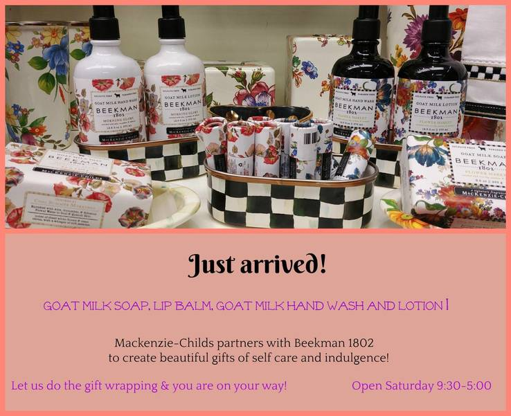 Just Arrived: New Products at The Depot Gift Shop