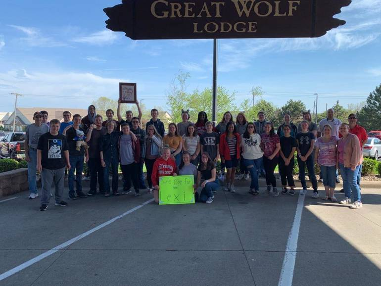 Newton High School Band Wins Big at National Competition