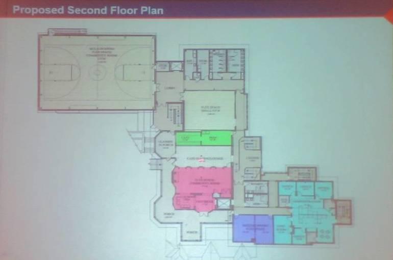 3 - Baird Community Center second floor plan.JPG