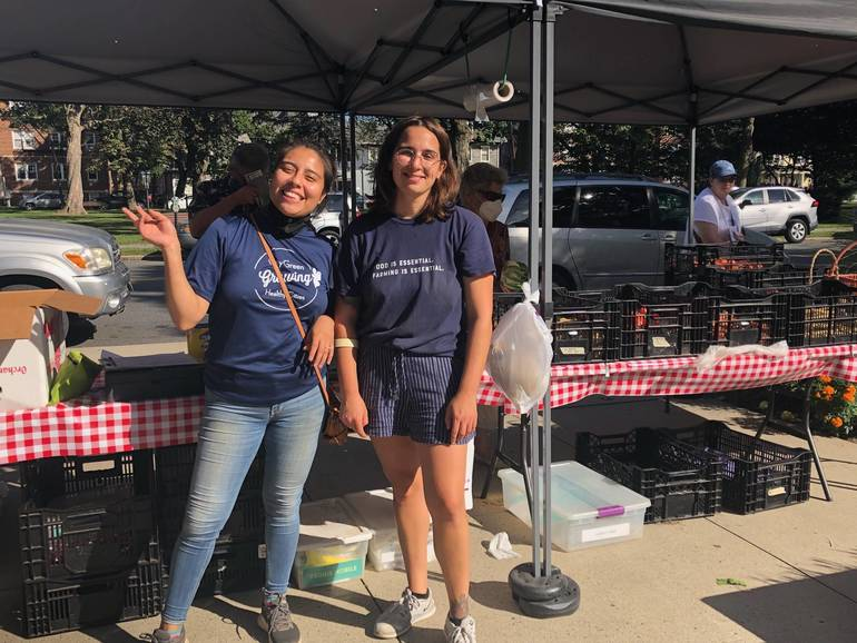 Bloomfield's Community Farmers Market a Success