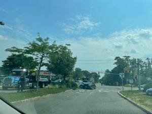Breaking: Three Car Accident at Acme on West Bay Avenue in Barnegat