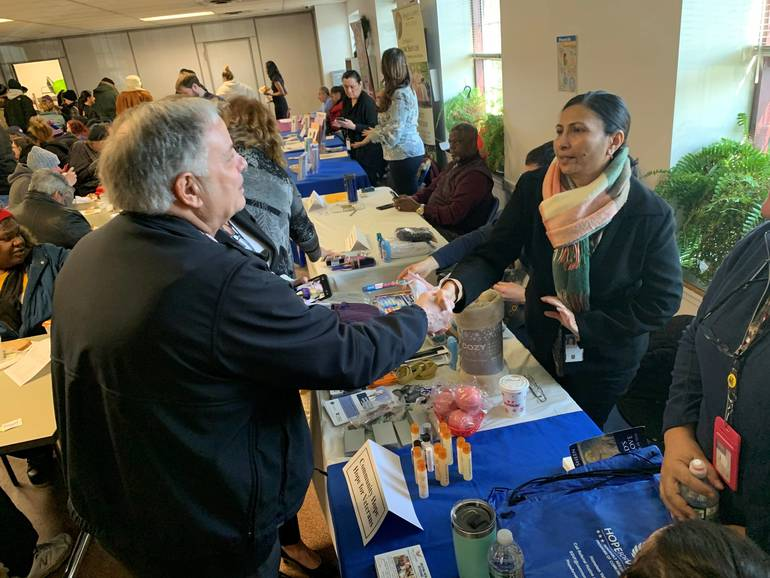 Bergen County ParticipatesInProject Homeless Connect,LinksHomeless Locals ToSupport Services