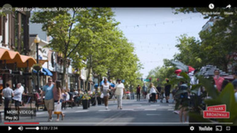 "Red Bank RiverCenter Recognized for ""Broadwalk"" (Video)"