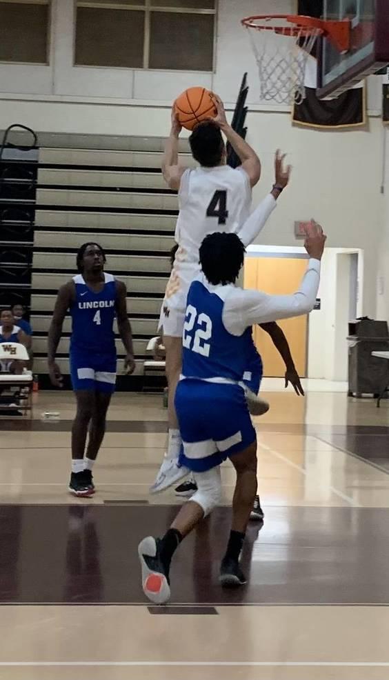 WHRHS Boys Basketball: Watchung Hills Dunks Lincoln, 72-50