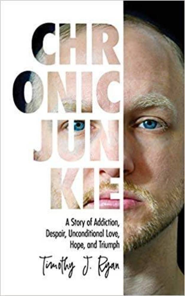 Local Author of 'Chronic Junkie' will be featured in upcoming WABC Special; Timothy Ryan Shares his Story of Addiction