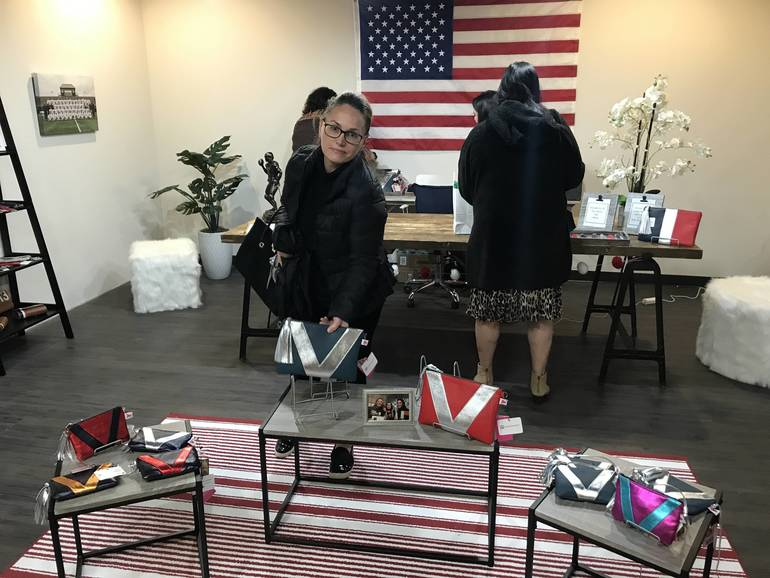 Lauren Farrell NY's Vienna Designer Handbag Collection at Holmdel's Bell Works, Children's Fashion Workshops Available