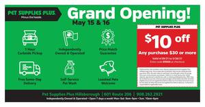 Pet Supplies Plus in Hillsborough Ribbon Cutting May 14