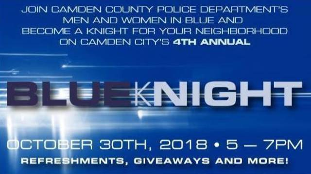 Camden County PD to Hold 4th Annual Blue kNight   TAPinto