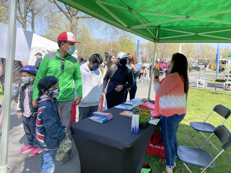 Hudson County Improvement Authority Hosts Earth Day Celebration