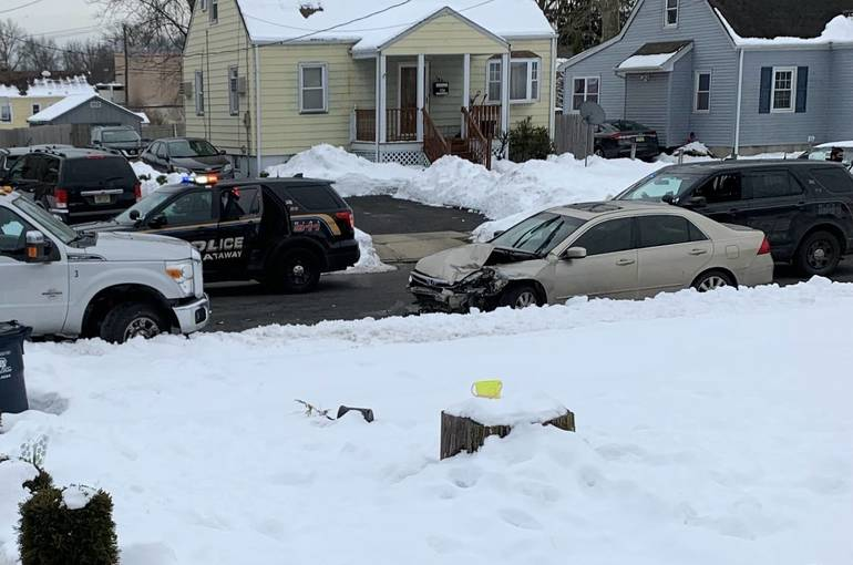 Piscataway: Driver Crashes into Parked Truck on High Street