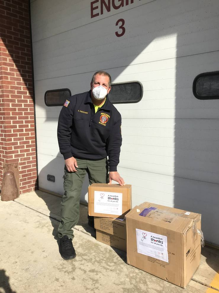 Local Chinese Community Donates Personal Protection Equipment to Frontline and Healthcare Workers