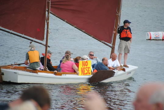 Top story ea6e2d2f4ffc2da354ac 4 elected officials  groups and citizens rallied by land and sea to stop the nese pipeline