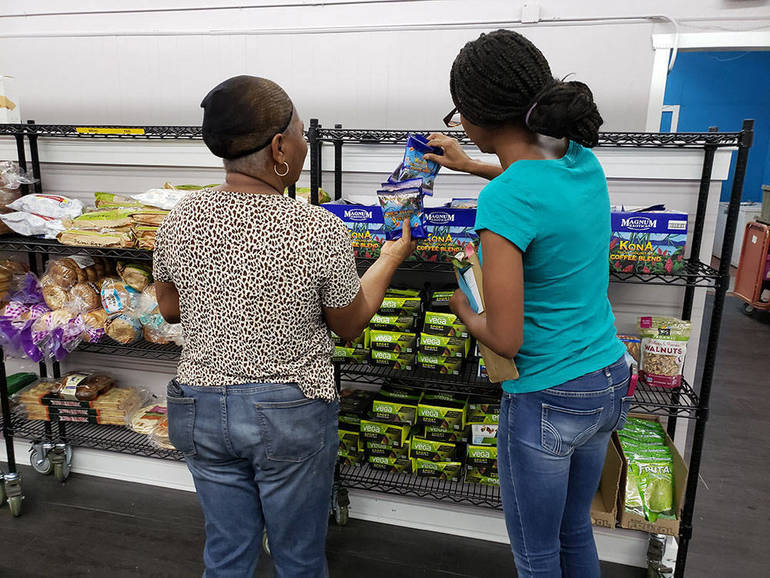 Visit to Paterson Food Pantry Like 'Shopping in a Grocery Store'