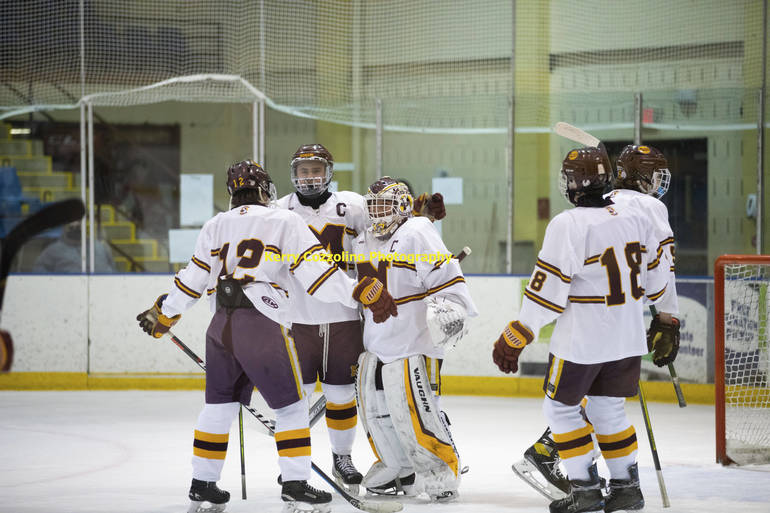No 1 Seed Madison Ice Hockey Shut Out No 4 Seed Kinnelon/Sparta/Jefferson; Advance to Semifinal Round of Halvorsen Cup