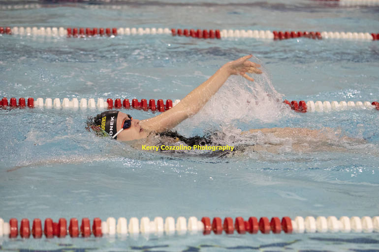 Madison High School Swim Splits Virtual Meet Against Parsippany Hills