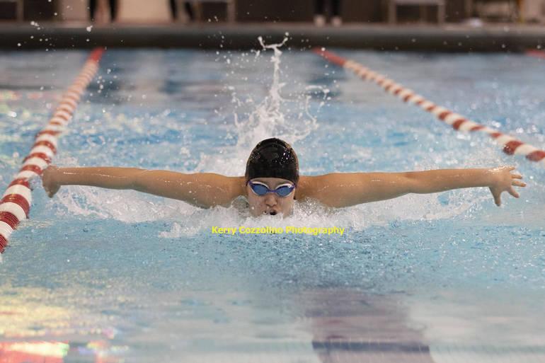 Madison High School Swim Splits Virtual Meet Against Parsippany Hills