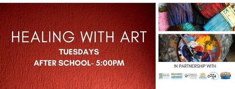Healing with Art at Coral Springs Museum of Art