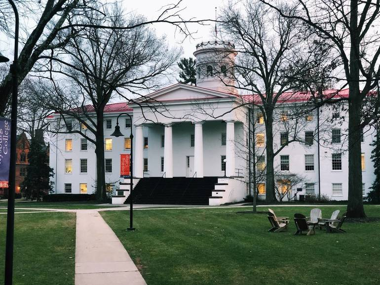 Gettysburg College Campus.