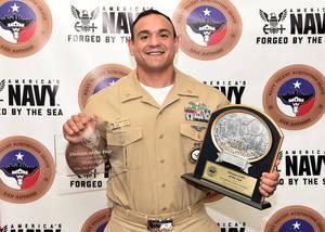 Paterson's Juan Ramirez Recogized by U.S. Navy