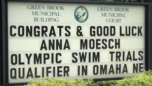 Watchung Hills Freshman Wins Heat at Olympic Swim Trials
