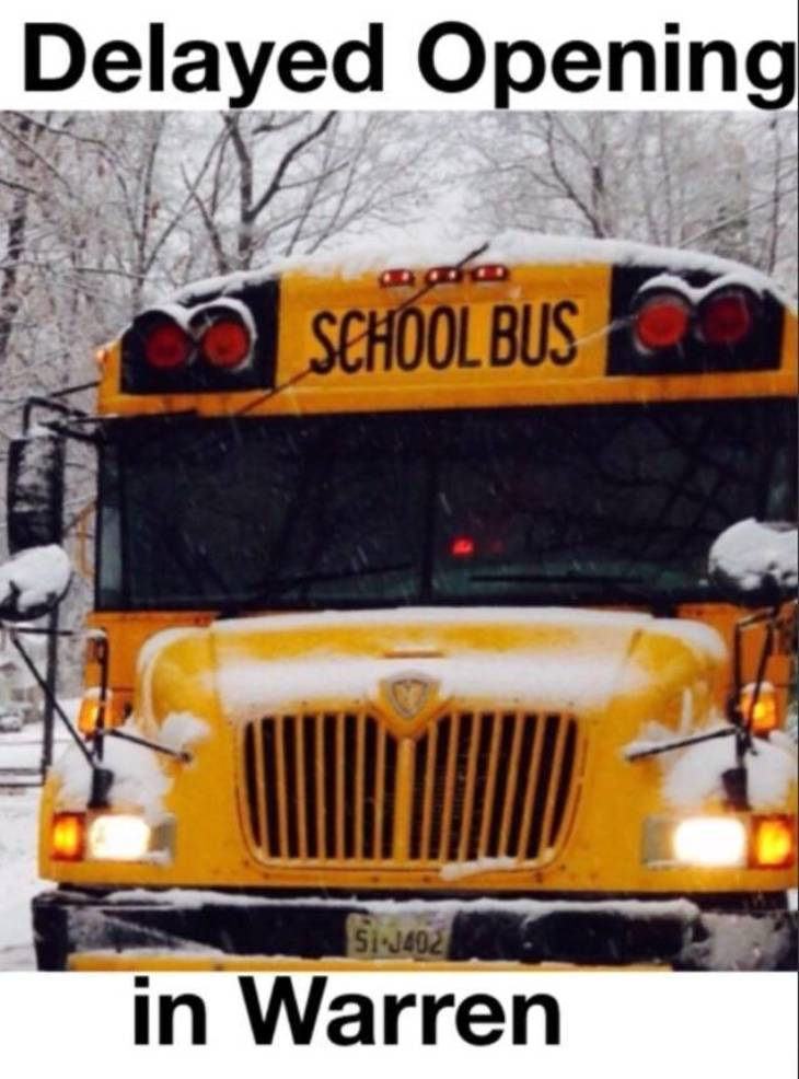 Delayed Opening Called for Watchung Hills, Sending Districts 515EF905-E429-4B7E-AD0A-83B7D1C147DB.jpeg