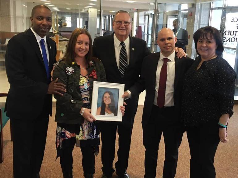 NJ Passed Alyssa's Law to improve school safety.