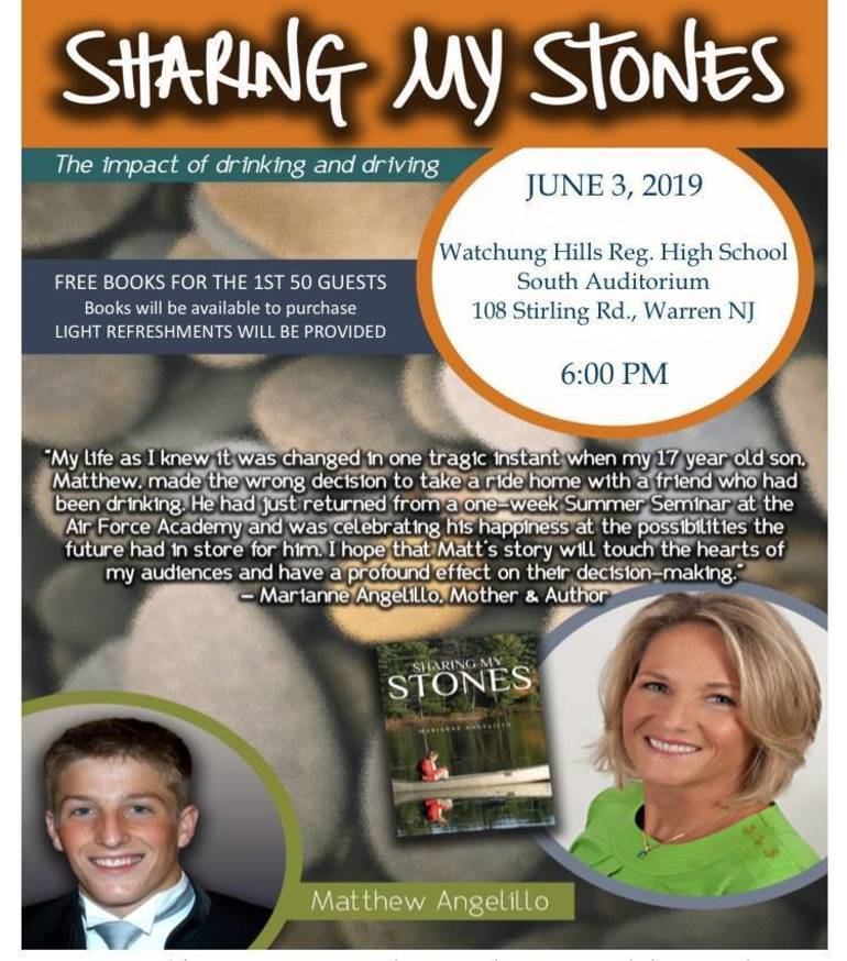 Sharing My Stones Set for June 3 at Watchung Hills53142178-7CE0-4A6F-8247-BA9F2DF17A4A.jpeg