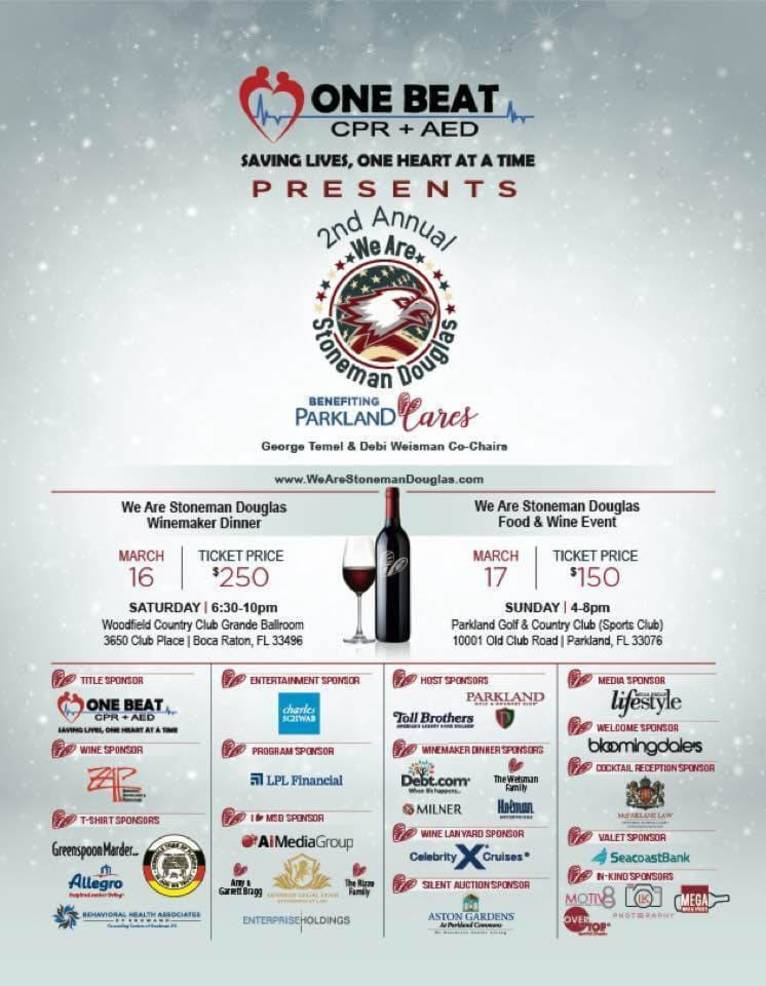 Get your tickets now and support Parkland Cares