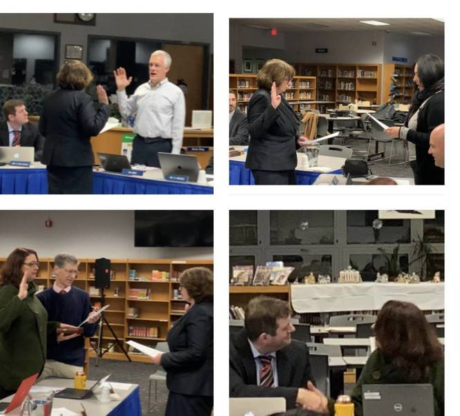 Warren Township Board of Education Swears in New Members, Appoints new President and Vice President 5BDFD576-DAA8-497B-941C-93383C34CC03.jpeg
