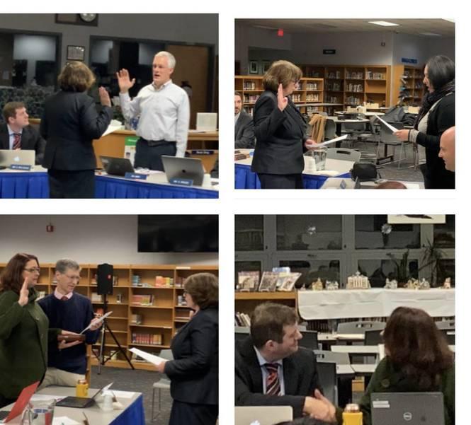 Warren Township Board of Education Swears in New Members, Appoints new President and Vice President 5BDFD576-DAA8-497B-941C-93383C34CC03.jpeg