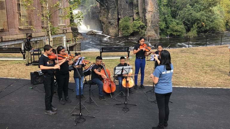 TAPinto Paterson Video: Paterson Music Project Performs America the Beautiful