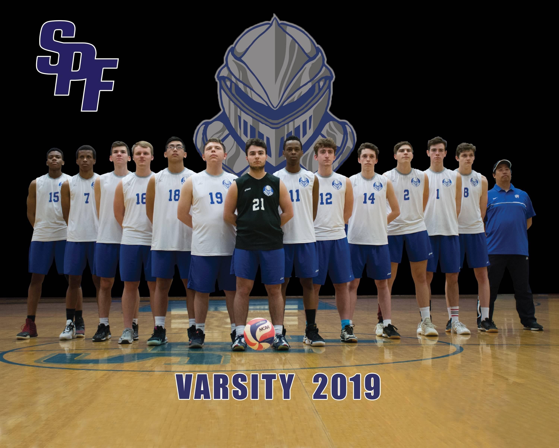 Scotch Plains-Fanwood's varsity volleyball team 2019
