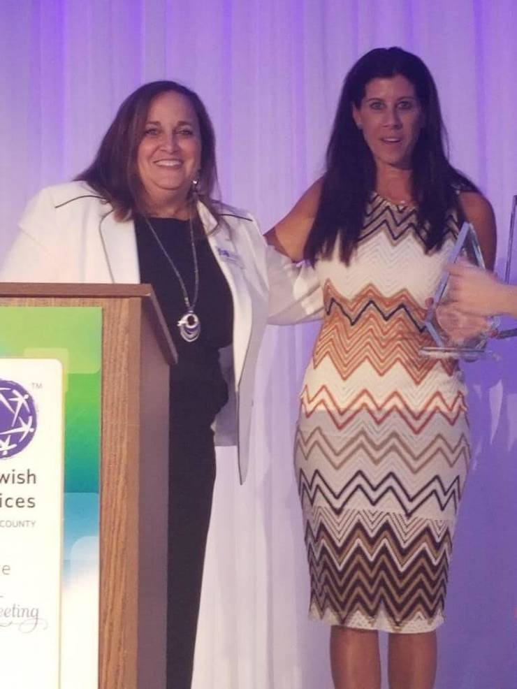 Stacey Udine, Pam Aks of Parkland Cares Awarded for Service