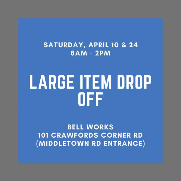 Holmdel: Large Item Drop-Off This Saturday