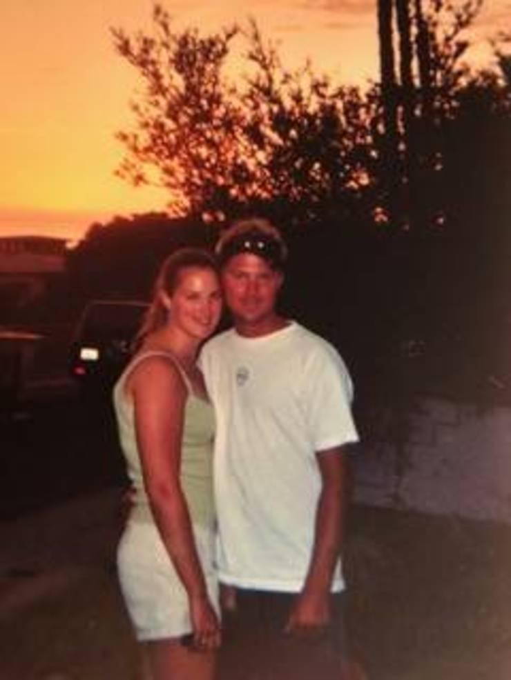 Ashley and friend, Jeff