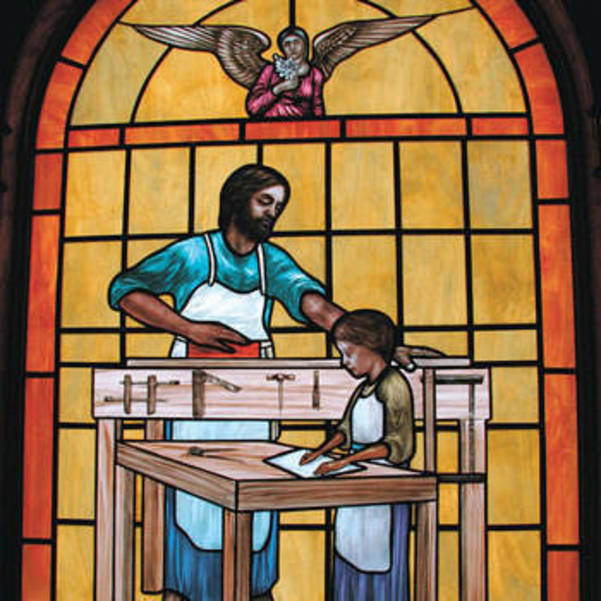 Inviting all to pray for St. Joseph to intercede on behalf of all workers, to keep them safe and healthy