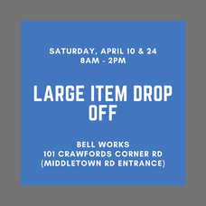 Holmdel: Large Item Drop-Off This Saturday